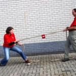 Touwtrek touw