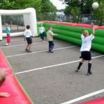 Voetbal boarding