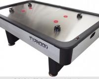 Airhockey tafel met rvs speelveld