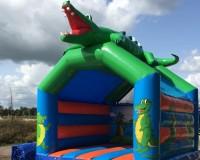 Springkussen Krokodil